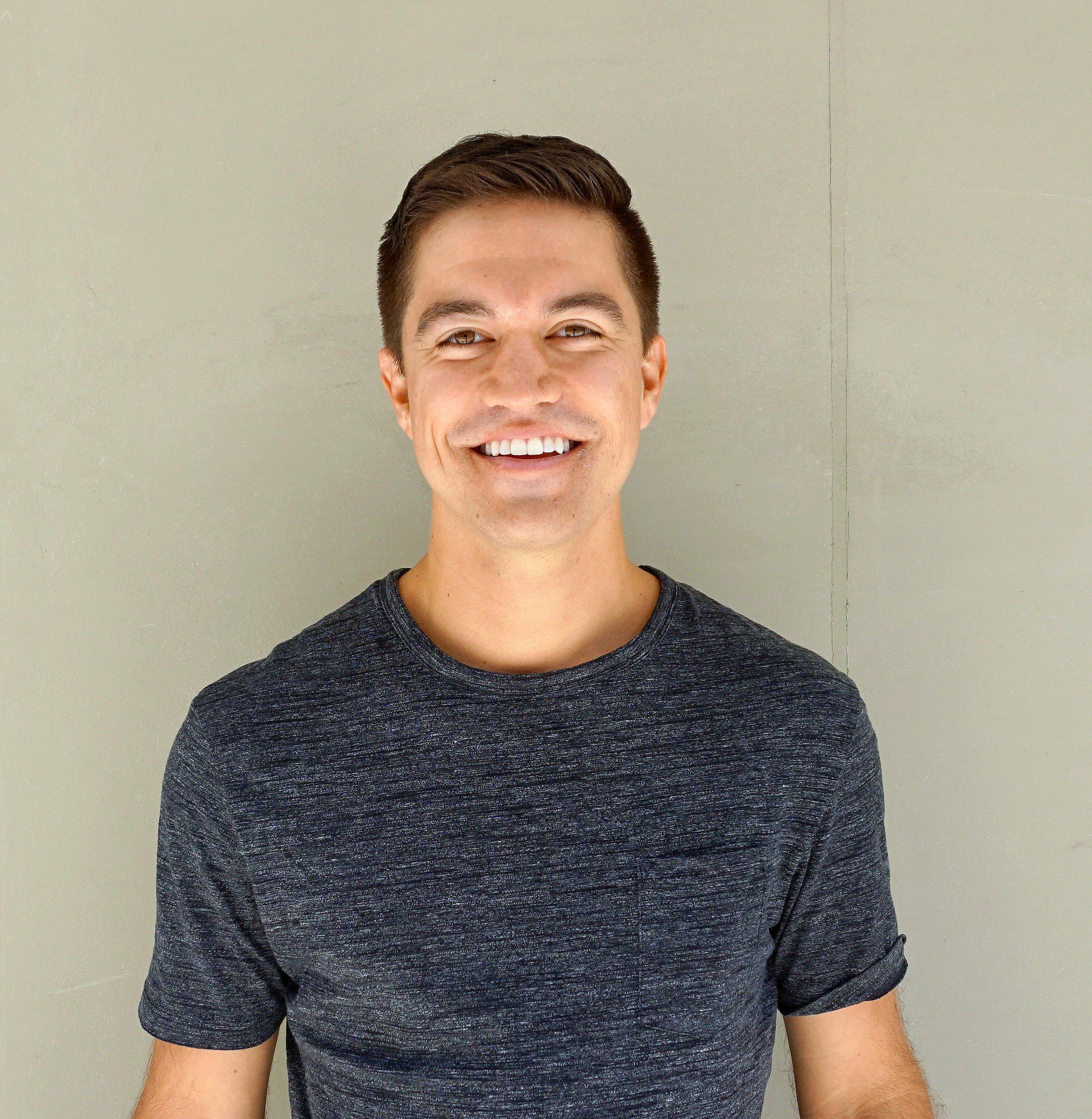 Photo of Ryan Glasgow smiling